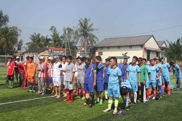 Tin thể thao: Lễ khai mạc, lượt trận đầu tiên vòng bảng Giải bóng đá HOÀNG MỸ – ANBANGNEWS