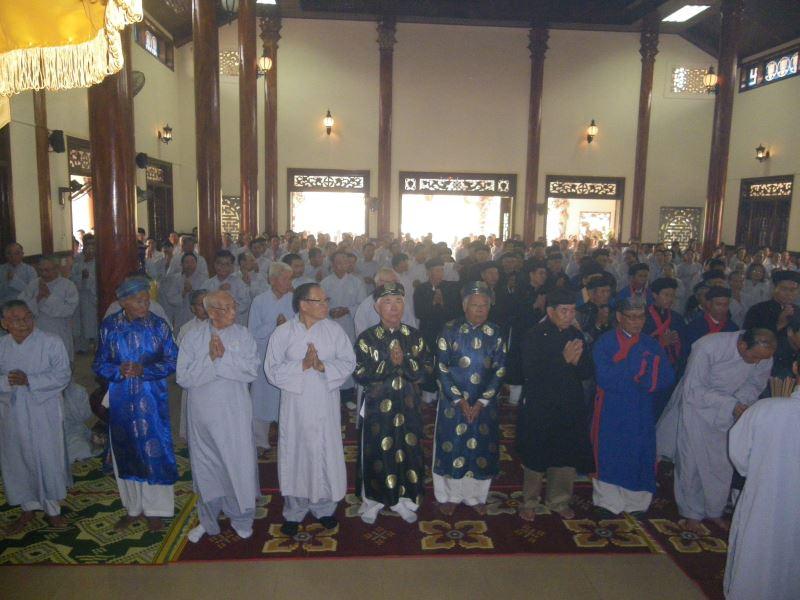 Lễ Cầu An Đầu Năm tại Chùa An Bằng