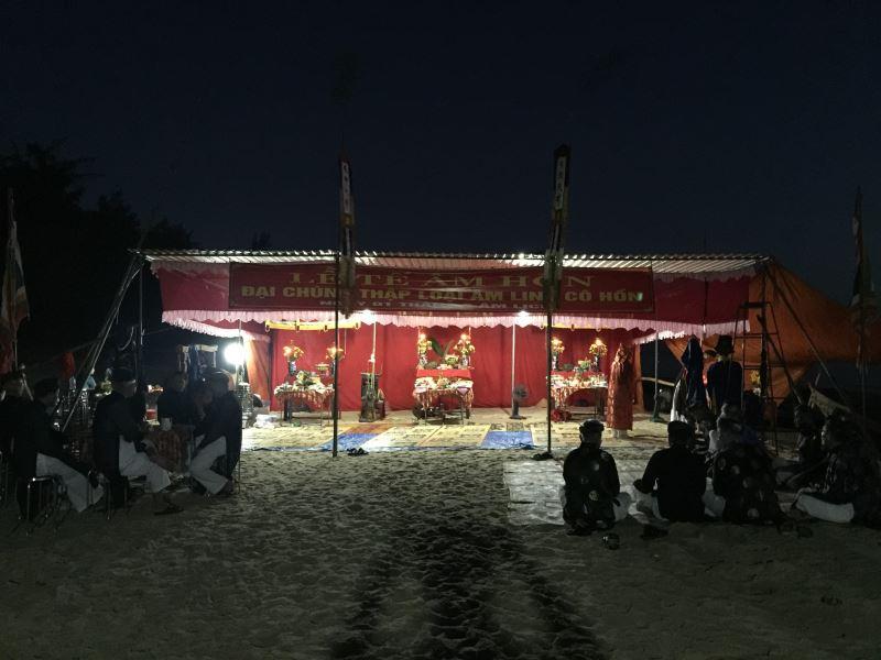 Lễ cúng Âm Hồn thường niên của Làng An Bằng