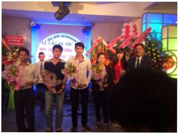 Người An Bằng Tại Sài Gòn 2014