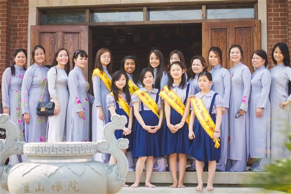 Đại Lễ Vu Lan Báo Hiếu tại chùa Linh Sơn tiểu bang Michigan