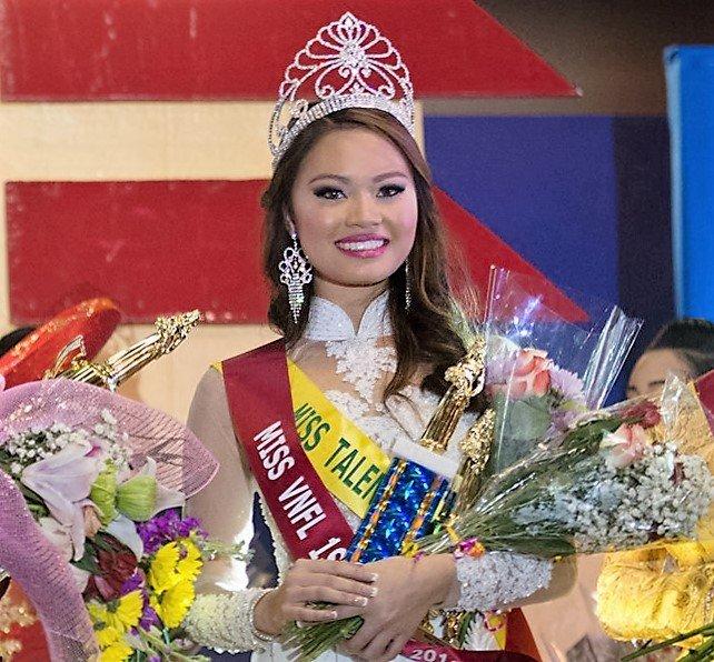 Michelle Le – Á Hậu 1 cuộc thi hoa hậu Người Việt Florida 2016
