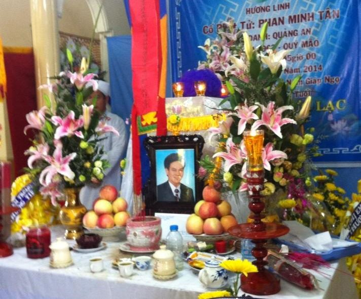 Ông Phan Minh Tân Qua Đời