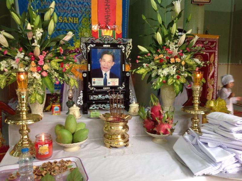 Phật tử TRƯƠNG CÔNG ĐOÀN qua đời