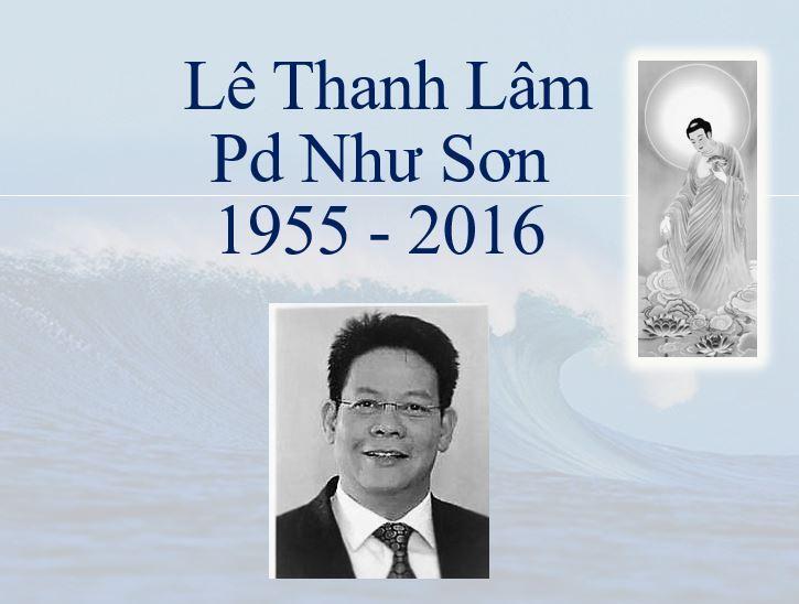 Ông Lê Thanh Lâm Qua Đời