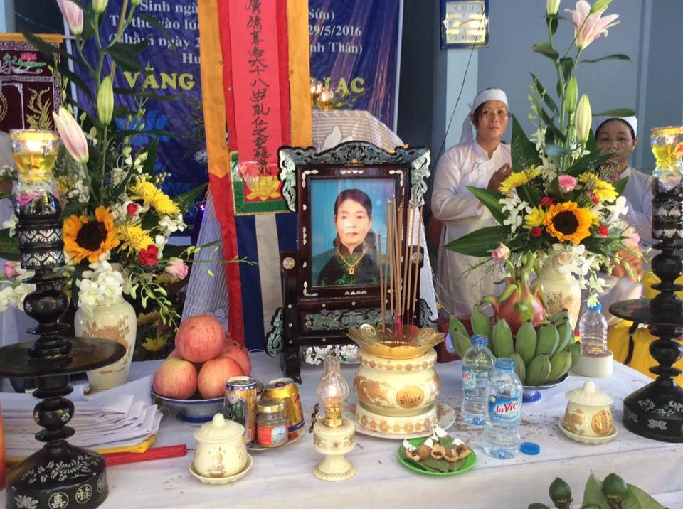 Bà Nguyễn Thị Thơm Qua Đời