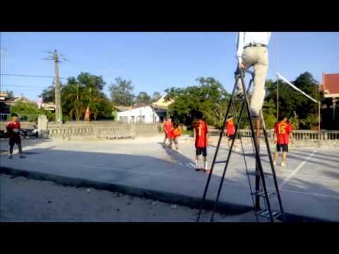 Bóng chuyền : Trung Hải vs Trường THCS An Bằng – Vinh An