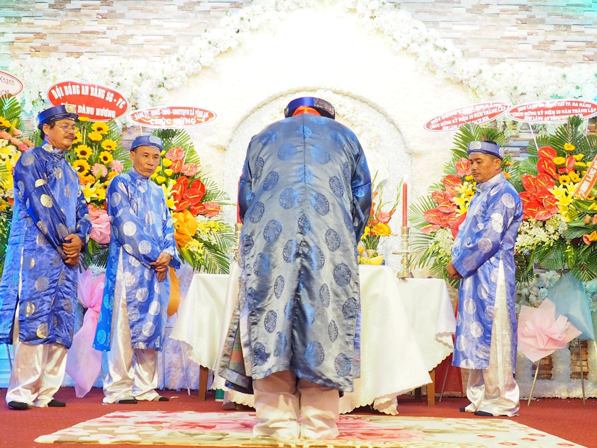 Lễ Cầu An và Kỷ Niệm 20 Năm Thành Lập Hội Đồng Hương An Bằng tại TP HCM