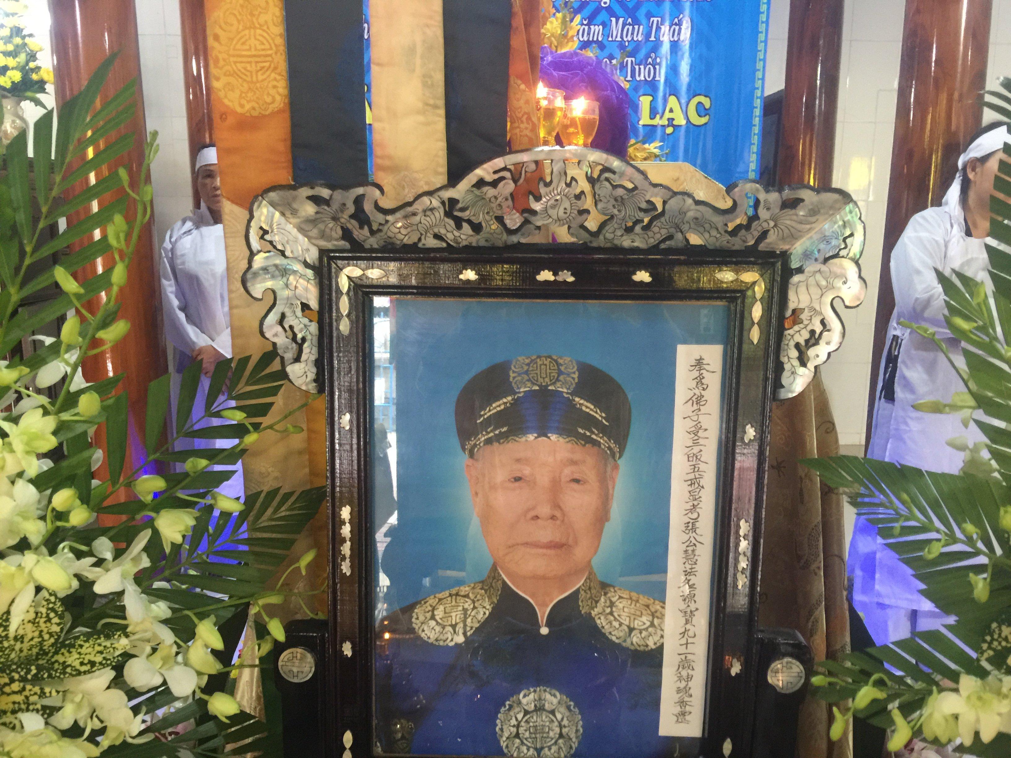 Ông Trương Công Tuệ qua đời