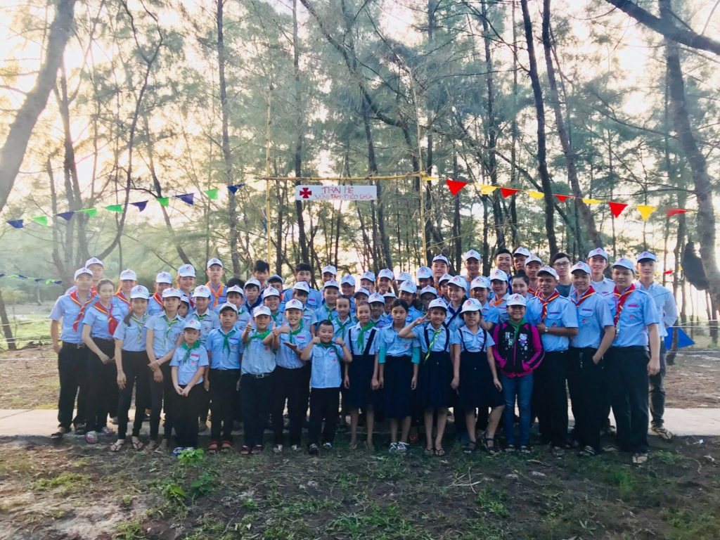 GXAB – Trại Hè Thiếu Nhi Thánh Thể 2018, với chủ đề : Vững Tâm – Theo Chúa.