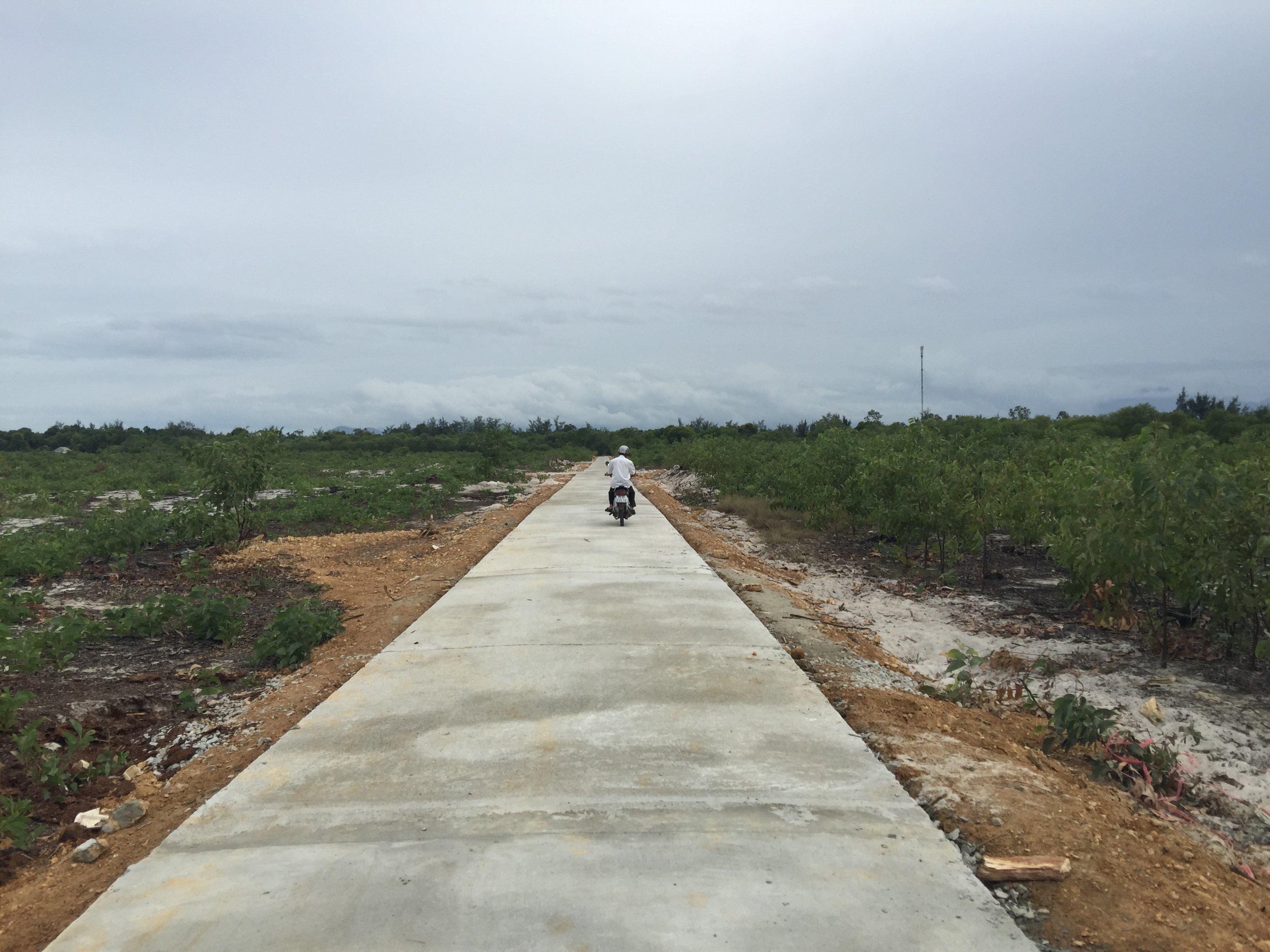 Quê hương An Bằng có thêm một tuyến đường mới.