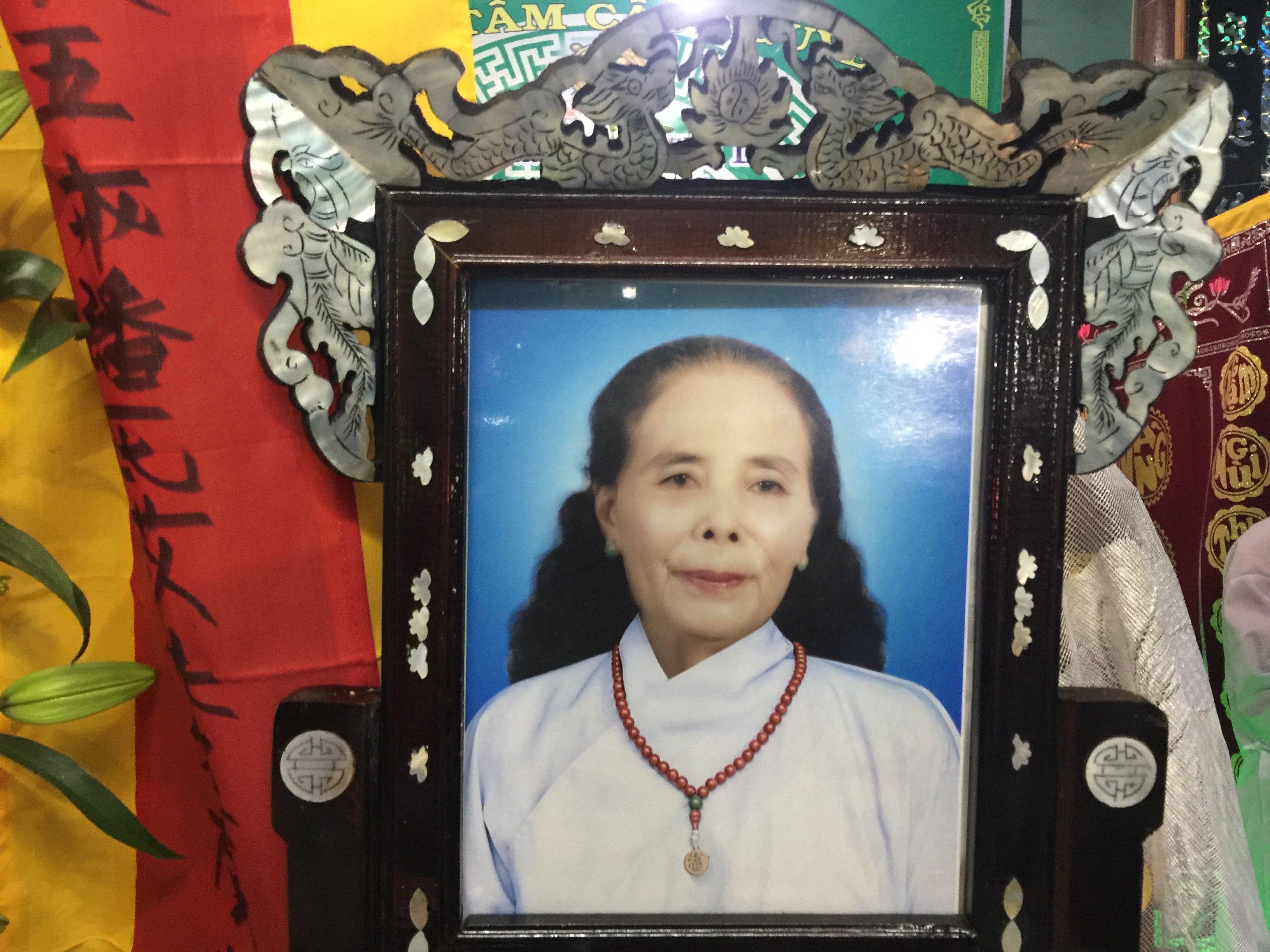 Bà Phan Thị Dĩ qua đời