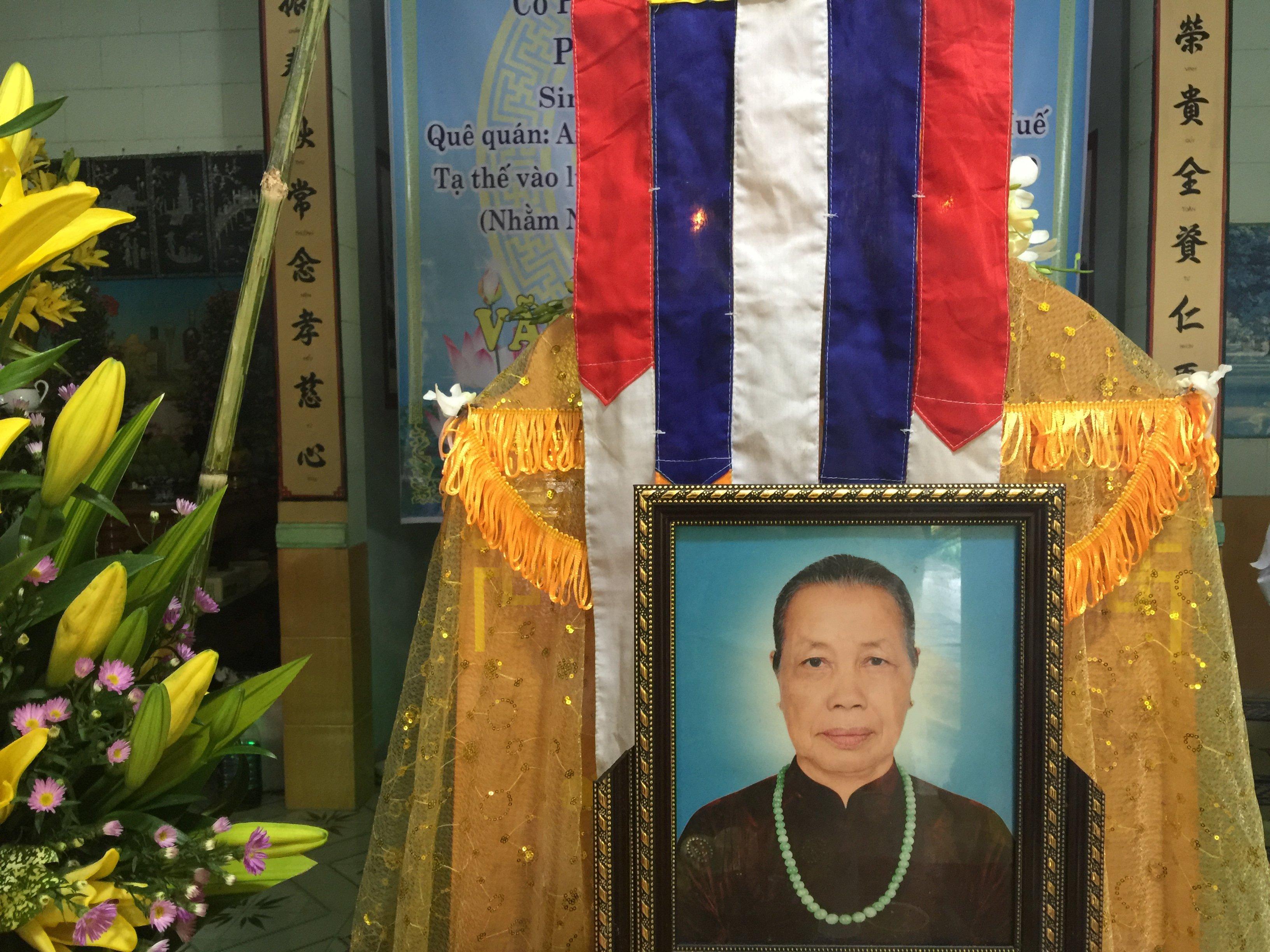 Bà Nguyễn Thị Mật qua đời