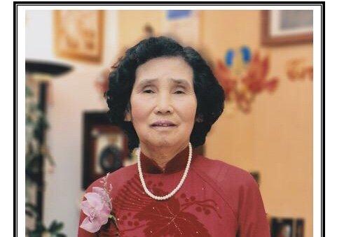 Bà Matta Lê Thị Duy, 81 tuổi, Qua Đời tại California