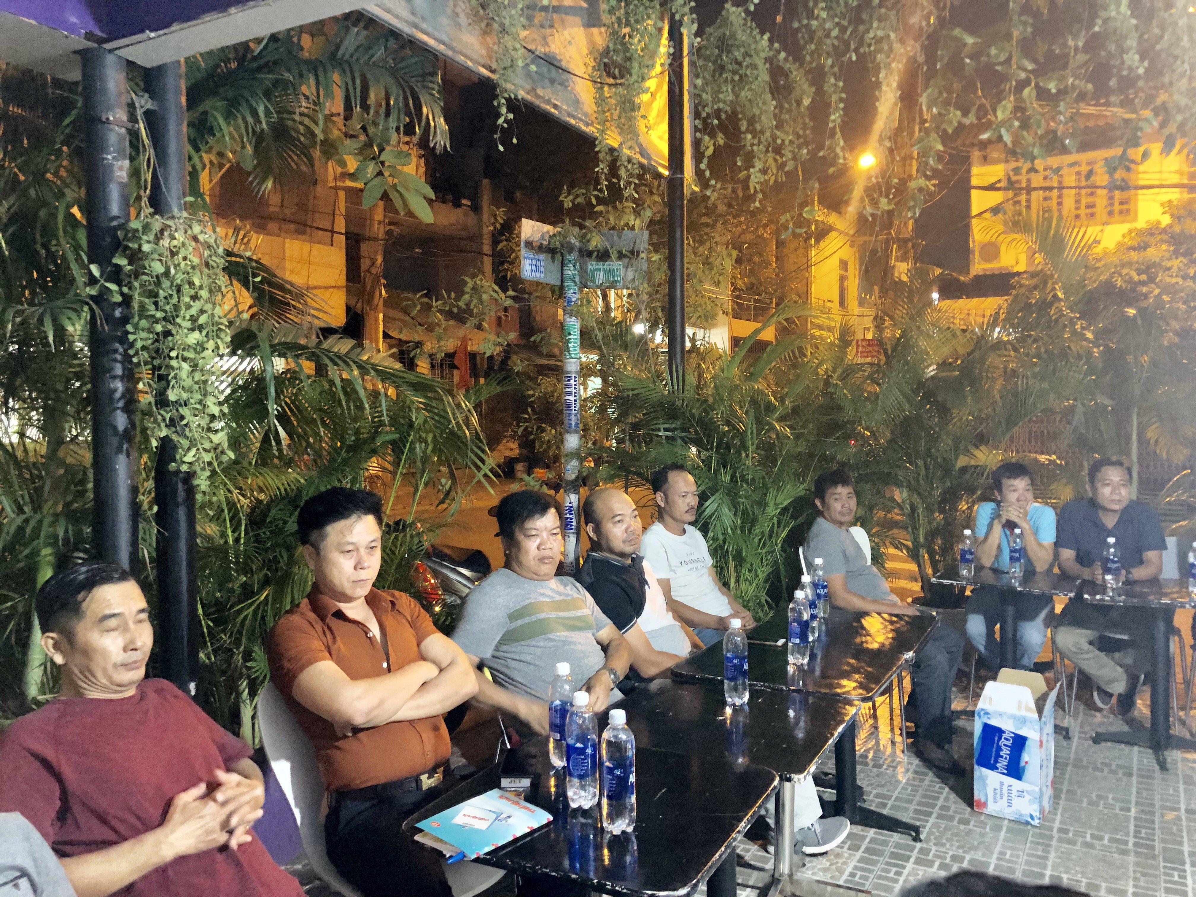 Ban liên lạc Hội đồng hương An Bằng tại Sài Gòn họp cuối năm.