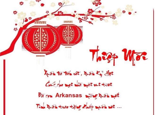 Thư Mời: Hội Đồng Hương An Bằng Tại Arkansas Tổ Chức Vui Xuân Kỷ Hợi