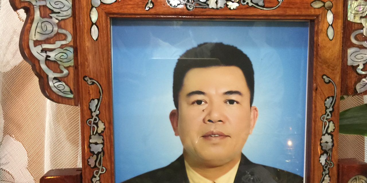 Chú Lê Văn Kha (Thóa ) qua đời