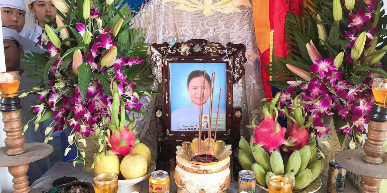 Chị Nguyễn Thị Xuân Qua Đời