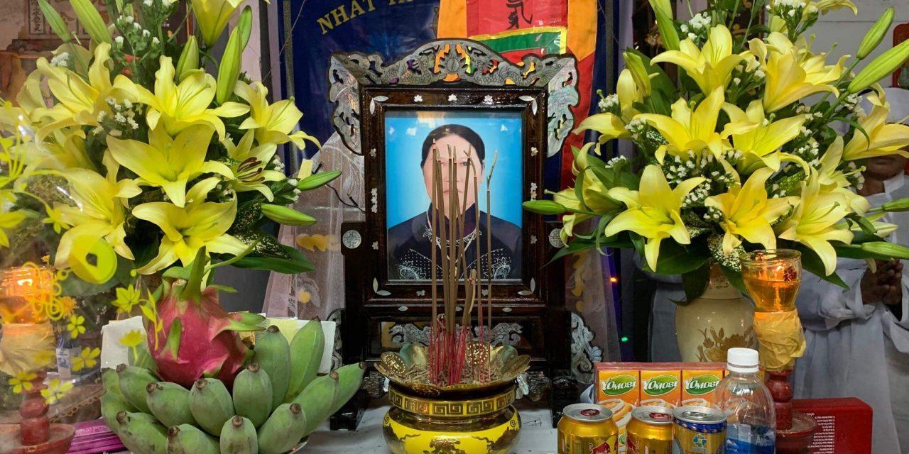 Bà Nguyễn Thị Ca qua đời