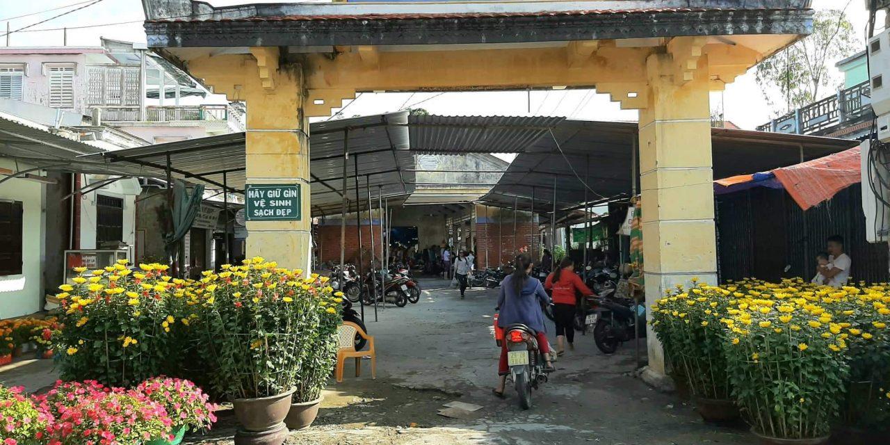 Chợ hoa và những ngày giáp Tết Canh Tý -2020 trên quê hương An Bằng