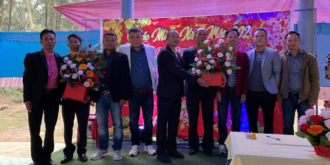 Ba xóm thuộc Cụm Định Hải tổ chức buổi gặp mặt đầu năm Canh Tý-2020