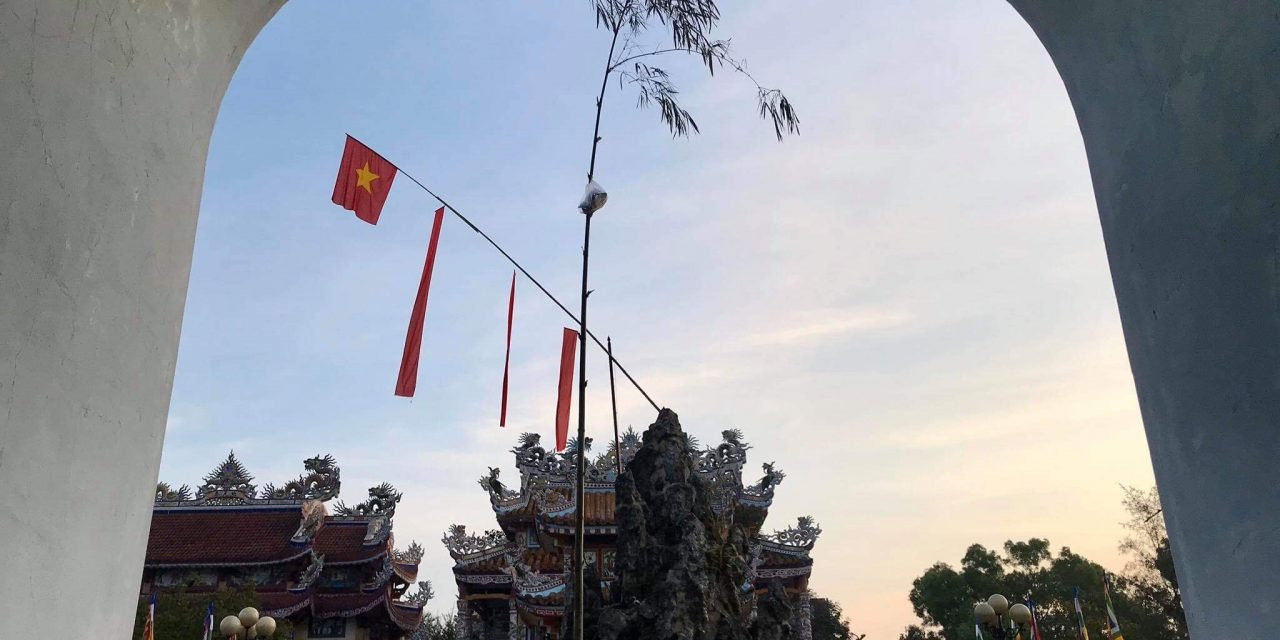 Lễ dựng nêu tại đình làng An Bằng và chào đón xuân Canh Tý – 2020