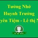 Tưởng Nhớ Huynh Trương Nguyên Tiệm – Lê Thị Ngợi