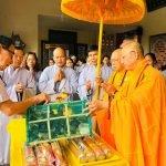 Niệm Phật Đường An Bằng tổ chức lễ cầu an đầu năm Canh Tý 2020